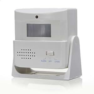 Sonnette sans fil carillon Bienvenue alarme détecteur Motion Sensor