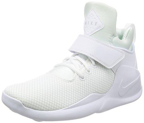 Nike 844839-100, espadrilles de basket-ball homme Blanc