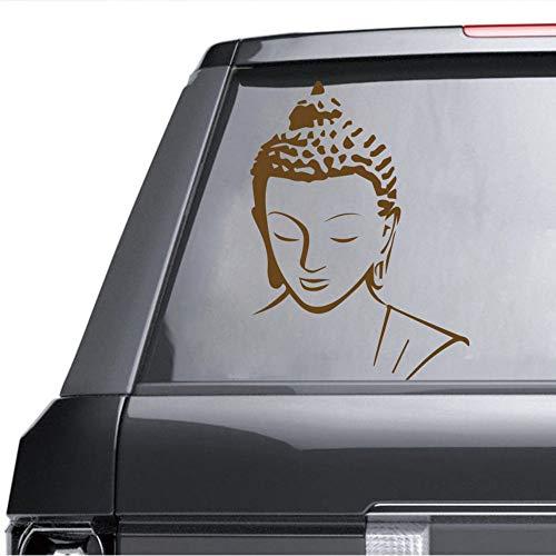 wuyyii 30x41 cm Religion Buddha Muster Wandtattoo Aufkleber Home Decor Abnehmbare Art Vinyl Wandbild für Wohnzimmer bett zimmer Wandkunst dekorationB