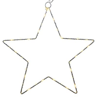 CMYK LED Christmas Star Light with 40warmwei? S LEDs Battery Operated from CMYK