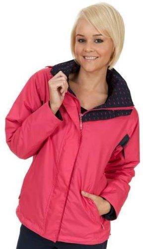 Sherwood Forest Bramham Veste d'équitation pour femme - Bright Pink / Navy