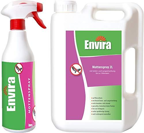 ENVIRA Mittel gegen Motten 500ml+2Ltr -