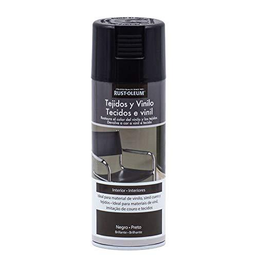 Spray Tejidos y Vinilo Negro Rust-Oleum 400 mL