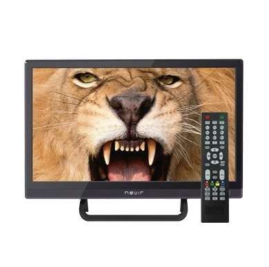 Nevir - 7412 tv 16' led hd usb dvr 12v hdmi negra