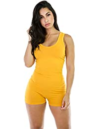 f70c499ab069 Dreamskull Damen Frauen Jumpsuits Overalls Einteiler Hosenanzug Romper  Jumper Body Bodycon Bodysuit One Piece Sport Fitness