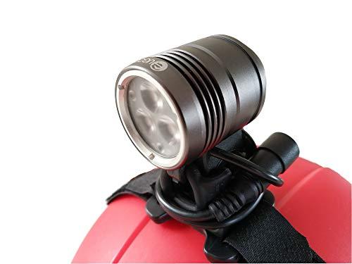 Ugoe Outdoor Led Helm Lampe 1500 Lumen Licht mit Akku