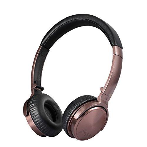 Lasmex C45 Kabelgebundene On-Ear Stereo Kopfhörer, faltbar Musik Kopfhörer mit Mikrofon und Lautstärkeregelung für Handy, MP3-Player, Autoradio, Tablett PC oder Notebook, funktioniert mit iTunes, Google Play und anderen Music Playern sowie Sounds aus allen Apps, Signaltönen, Videoton usw.