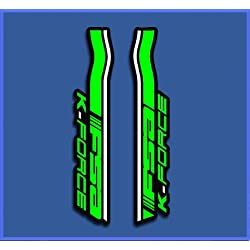 Ecoshirt QZ-KW2B-RFE6 Pegatinas Fsa Bike Dp1059 Stickers Aufkleber Decals Autocollants Adesivi, Verde