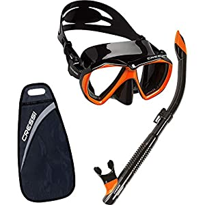 Cressi Ranger & Tao - Unisex Combo Set Mask and Snorkel