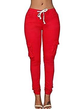 Juqilu Mujer Pantalones Lápiz –