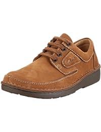 Clarks Nature II 00110535 - Zapatos de cordones de cuero para hombre
