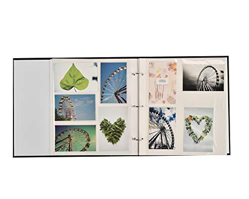 ARPAN Lot de 20 feuilles/40 Pages Autocollantes pour Album Photo (AL-2281) 26 x 32 cm