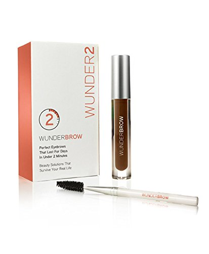 WUNDERBROW - The Perfect Eyebrows That Last for Days in Under 2 Minutes - Brunette