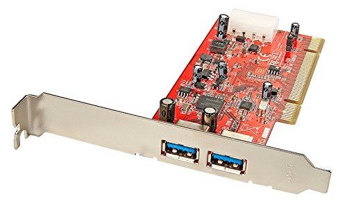 Scheda PCI USB 3.0 2 (Home 8 Uscite Da Sovratensioni)
