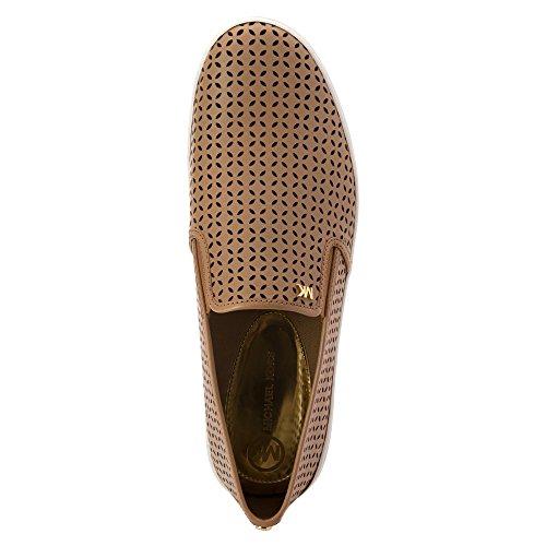 Michael Kors Michael Olivia Slip-on Fashion Sneakers Dark Khaki