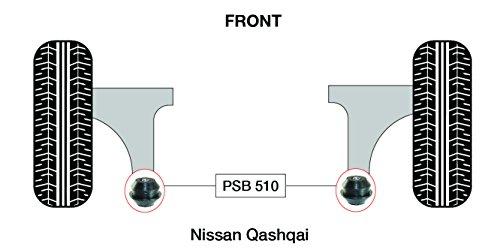 PSB polyuréthane Bush inférieur avant bras arrière bushing kit (07-13) - Psb510