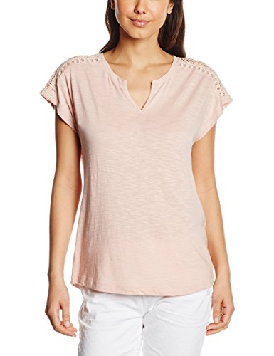s.Oliver Damen T-Shirt Rosa (light rose 4248)