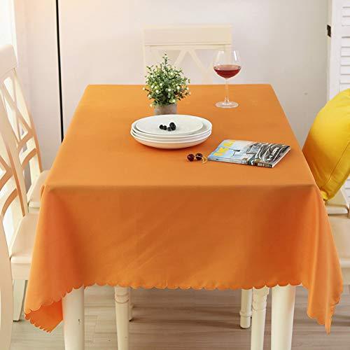 Nclon Volltonfarbe Tischdecke, Waschbar Polyester Tischtuch tischwäsche, Ideal für Restaurant, Auf...