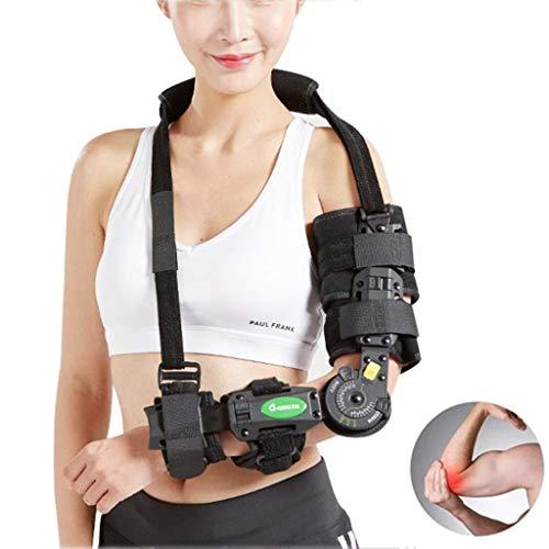Eslinga para hombro / brazo - Unisex Soporte ajustable suave con correa de cintura, Malla transpirable, Tela ligera, Inmovilizar y estabilizar el brazo lesionado, Ayuda pre / posoperatoria para reduci