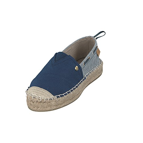 in gestreift SYLT SHOES Navy 6 7111 Damen Farben Slipper 402 GOSCH B0xq77