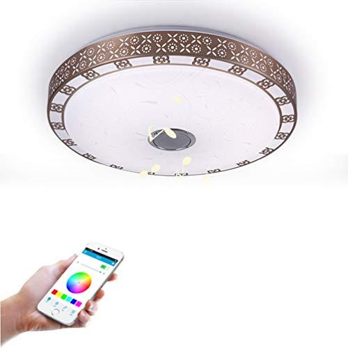 YWYU 72W Bluetooth Música Luz de Techo Teléfono Inteligente APLICACIÓN Control LED...
