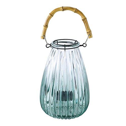 Zeit Concept Enrich Glas Blume Vase-Home Decor, Abendessen Tisch Mittelpunkt Green - Small Jagged Glass