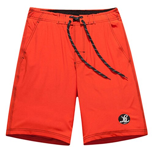 Männer Shorts Strand Shorts Quick-dry Sport Shorts Orange