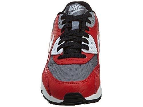 Nike Air Max 90 (Gs), Chaussures de Sport Garçon, 16 EU Rouge