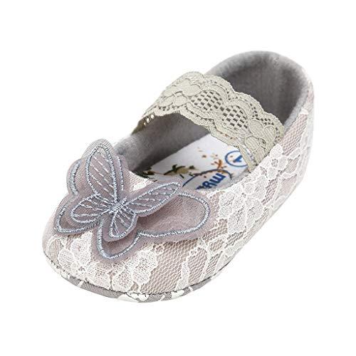 squarex Kids Sneakers Baby Sportschuhe Mädchen Outdoor Schuhe Mädchen Freizeitschuhe Butterfly Lace Fashion Slip-On Kleinkind Lauflernschuhe (Butterfly-schuhe Für Kinder)