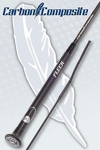 Fleck Dressurgerte Carbon COMPOSIT extra leicht Größe/Farbe 140cm / schwarz