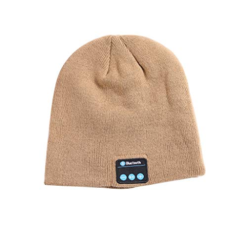 Mitlfuny Black Friay DE Cyber Monday DE,Bluetooth-Musikhut mit Stereo-Kopfhörer-Headset Drahtlose warme Mütze