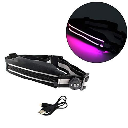 LED-Hüfttasche mit wiederaufladb...