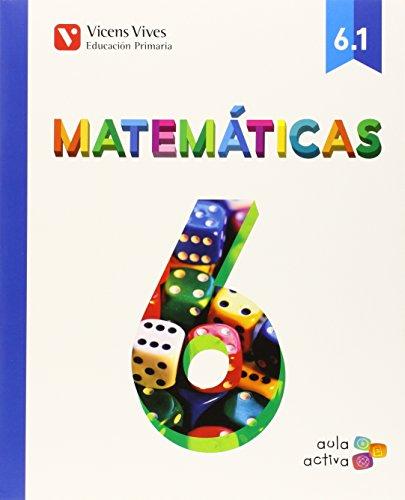 Matemáticas 6. Libro 1, 2 y 3. (Aula Activa)