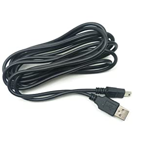 LeSB Extra Long 3M USB Ladekabel für Sony Playstation 3/PS3 Controller Ladekabel