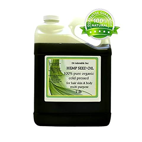 Hemp Seed Oil A Level of Beauty & Health 7 LB