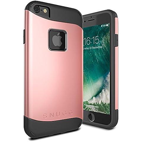 Funda iPhone 7, Snugg Apple iPhone 7 Case Slim Carcasa de Doble Capa [Infinity Series] Revestimiento con Protección Anti-Golpes – Oro Rosa