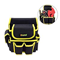 FOONEE Multi-Tool Storage Bag, Thick Oxford Cloth Repair Kit Waterproof And Wear-Resistant Pocket Home Construction Site Are Suitable For Configuration Adjustable Belt