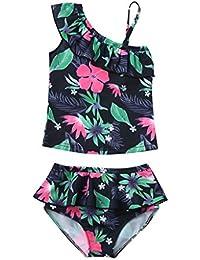 Poachers Ropa baño Niñas bebé Verano 12meses-6años Dos Pieza tación Playa Conjuntos Bikinis Cómodo