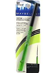 Maybelline Define-A-Brow Eyebrow Pencil, Soft Black 641 1 ea