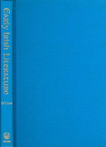 Early Irish Literature by Myles Dillon (1948-06-01)