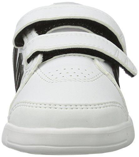 adidas Lk Trainer 7 Cf I, Baskets Basses Mixte Bébé Blanco / Negro / Rojo (Ftwbla / Negbas / Rojsol)