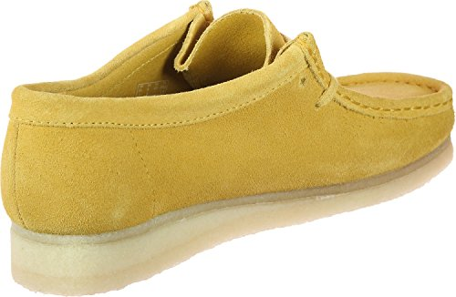Clarks Originals Wallabee Damen Low Top Sneakers Gelb