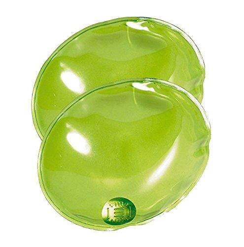 eBuyGB pour Homme 1209124-2 réutilisable Gel Chauffe-Mains, Vert, Taille Unique