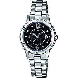 Sheen by Casio Ladies Stainless Steel Bracelet Watch