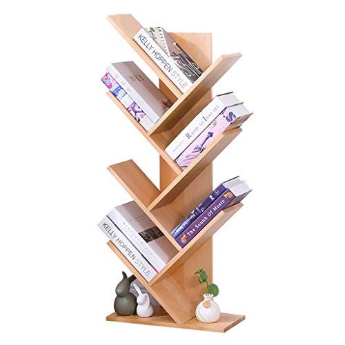 Bibliothèques en Bois Créative en Forme d'arbre De Chambre À Coucher Environnementale De Chambre d'enfant La Plus Petite Empreinte Au Sol, Super Port