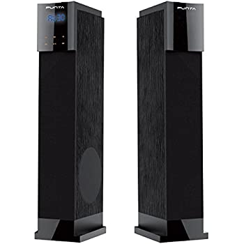Punta Venus-T2 Floor Standing Tower Speakers With Bluetooth/USB/FM/SD Slot/Remote/LED Display