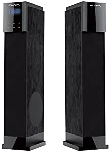 Punta Venus-T2 Floor Standing Tower Speakers With Bluetooth/USB/FM/SD Slot/Remote/LED Display