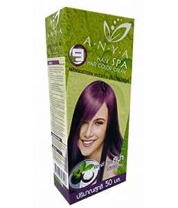 anya spa teinture coloration cheveux permanente goth emo elfe cosplay violet pourpre. Black Bedroom Furniture Sets. Home Design Ideas