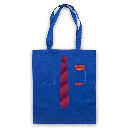 Inspiriert durch Shaun Of The Dead Shirt And Tie Inoffiziell Umhangetaschen Blau