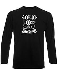 T-Shirt Homme Manche Longue Noir DEC0002 ANOS 8f8e3fb8a6f